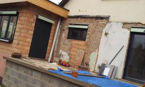 Extension - terrasse